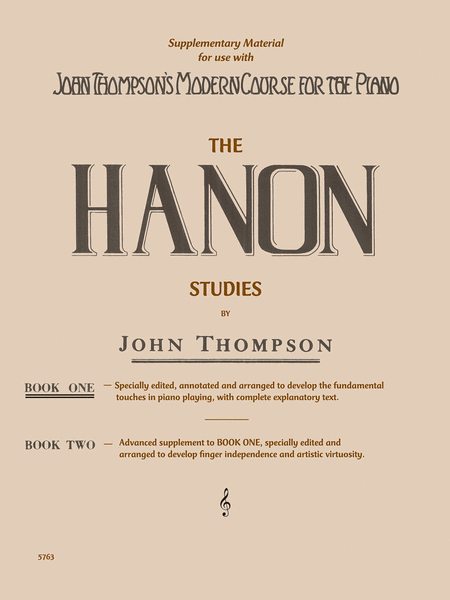 The Hanon Studies - Book One