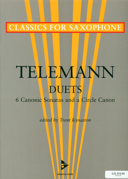 Six Canonic Sonatas and a Circle Canon