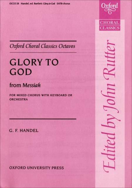 Glory to God from Messiah
