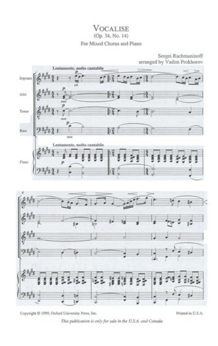 rachmaninoff vocalise sheet music pdf