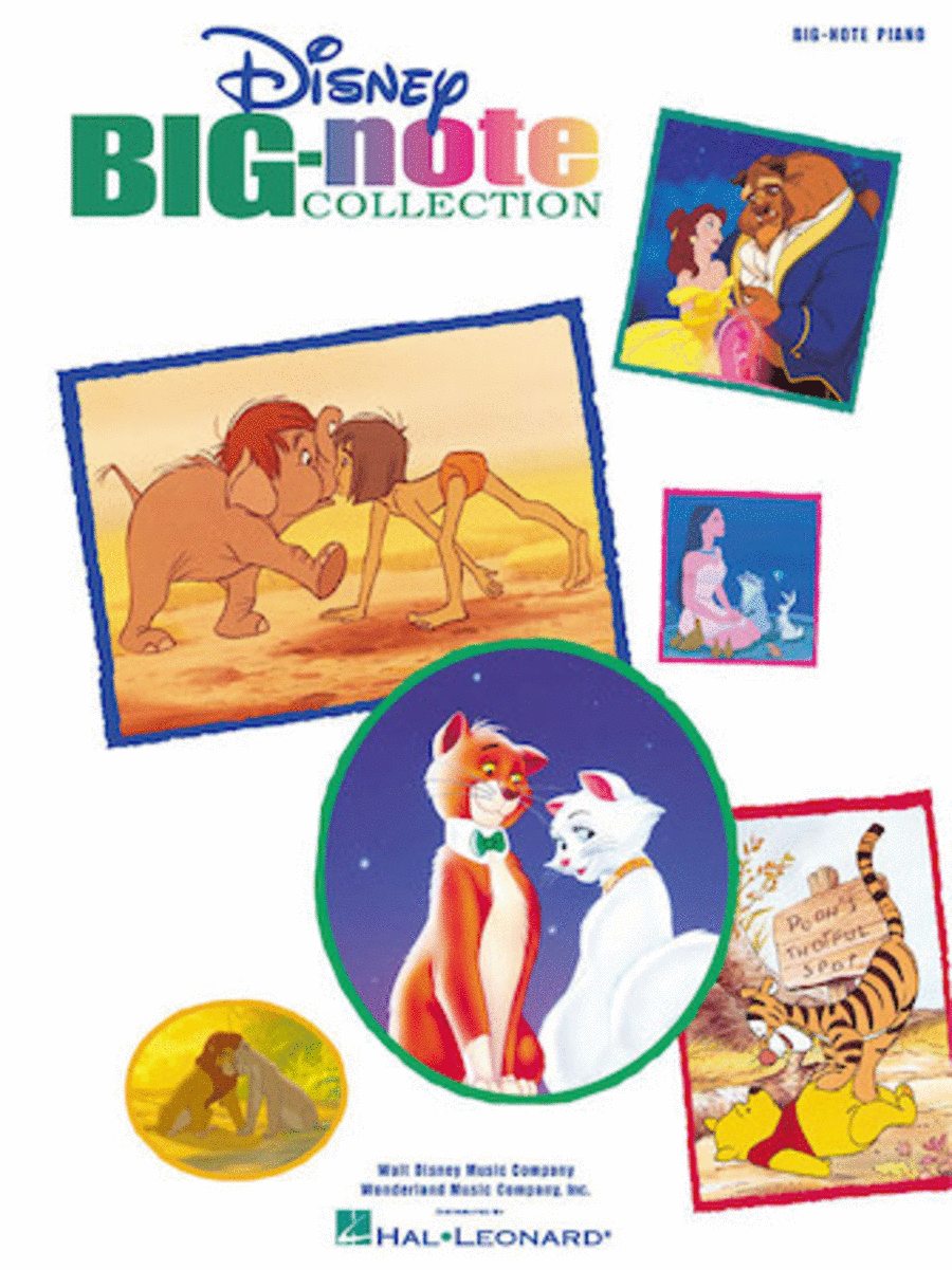 Disney Big-Note Collection - Easy Piano