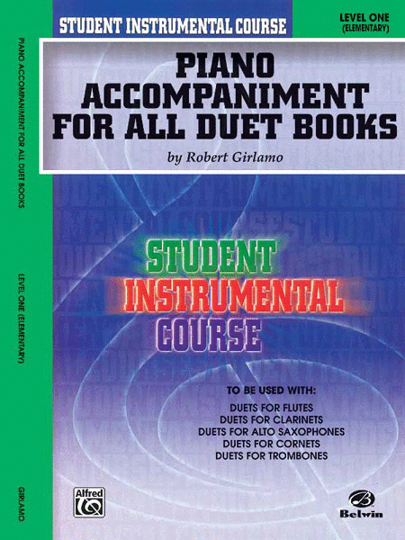 Student Instrumental Course Duets (Piano Accompaniment for All Duet Books)