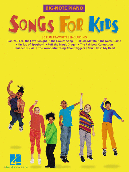 Songs For Kids - Easy Piano