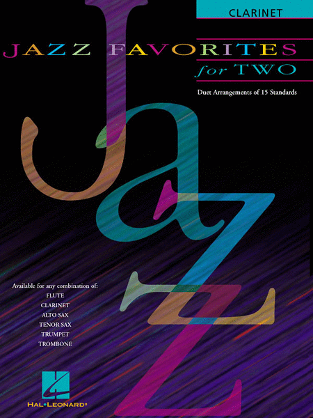 Jazz Favorites For Two - Clarinet