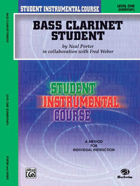 Student Instrumental Course Bass Clarinet Student