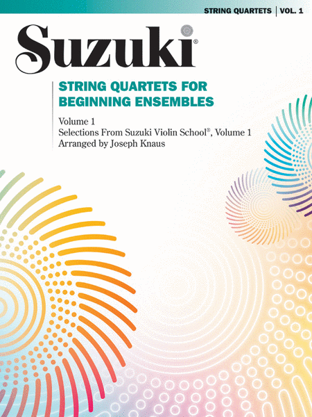 String Quartets for Beginning Ensembles, Volume 1