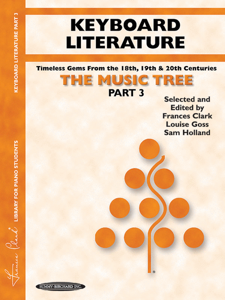 The Music Tree - Part 3 (Keyboard Literature)