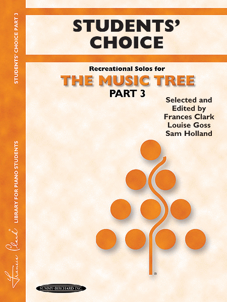The Music Tree - Part 3 (Student's Choice Recreational Solos)
