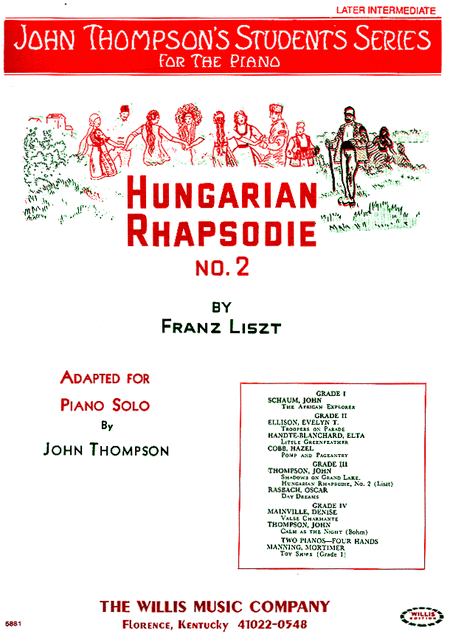 Hungarian Rhapsodie No. 2