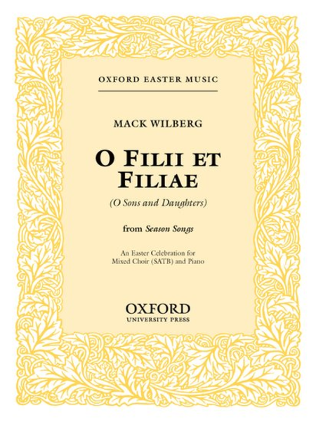 O Filii Et Filiae (O Sons and Daughterse