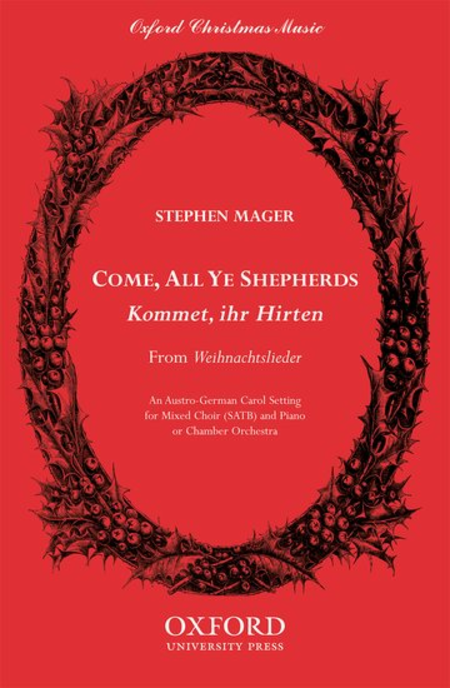 Come, all ye shepherds (Kommet, ihr Hirten)