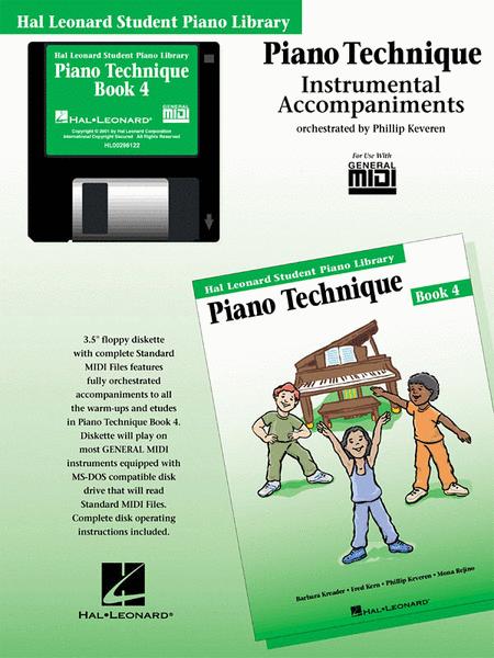 Piano Technique Book 4 - GM Disk