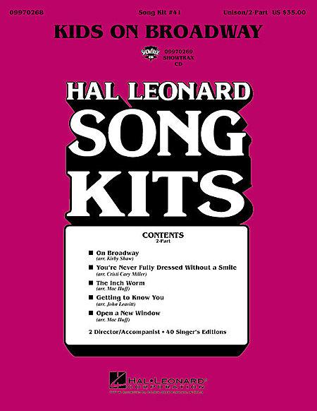 Kids on Broadway (Song Kit #41)