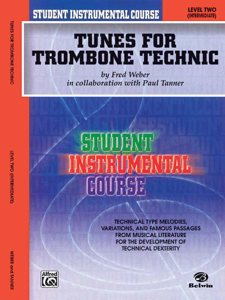Student Instrumental Course Tunes for Trombone Technic