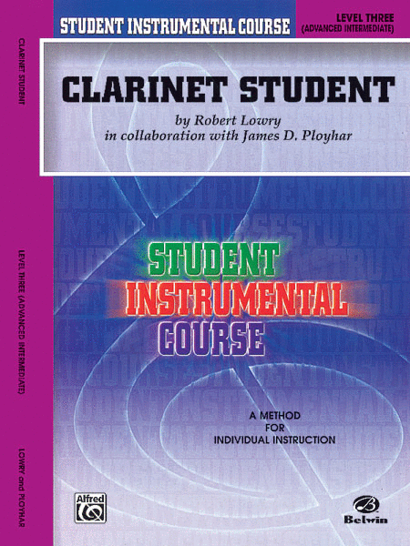 Student Instrumental Course Clarinet Student