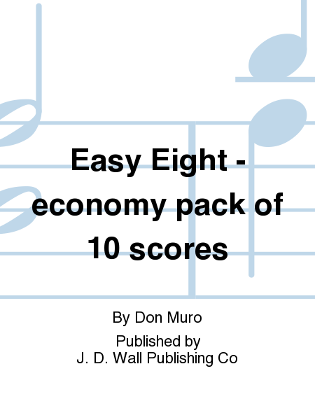 Easy Eight - economy pack of 10 scores
