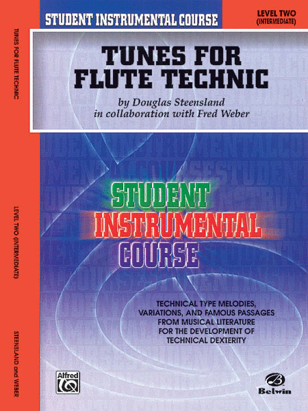 Student Instrumental Course Tunes for Flute Technic