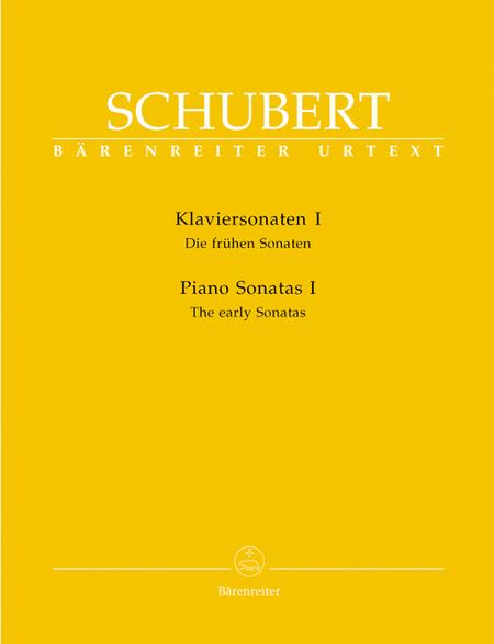 Piano Sonatas, Volume I