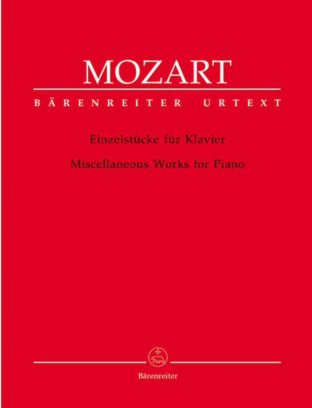Miscellaneous Works For Piano