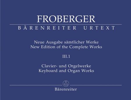 Clavier- und Orgelwerke abschriftlicher ueberlieferung: Partiten und Partitensaetze, Teil 1a