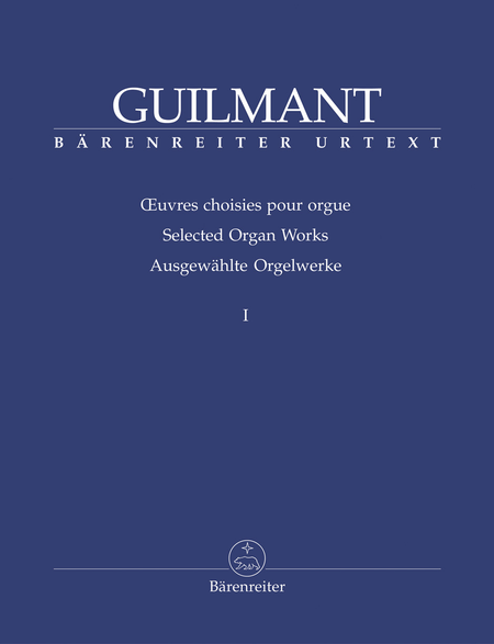 Selected Organ Works, Volume 1 - Sonatas 1-4