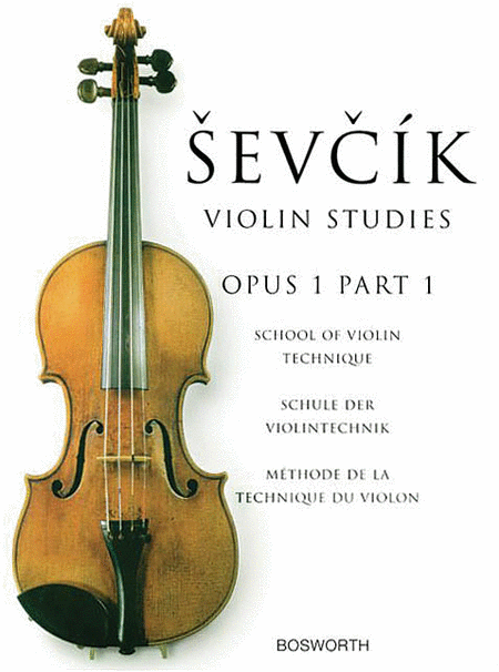 Sevcik Violin Studies - Opus 1, Part 1