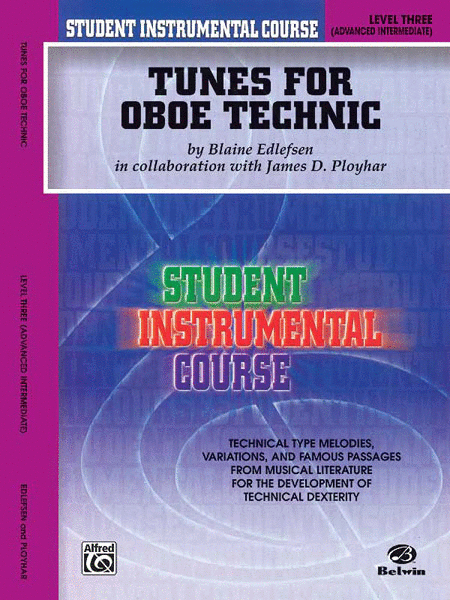 Student Instrumental Course Tunes for Oboe Technic