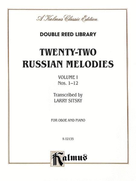 Twenty-two Russian Melodies, Volume 1