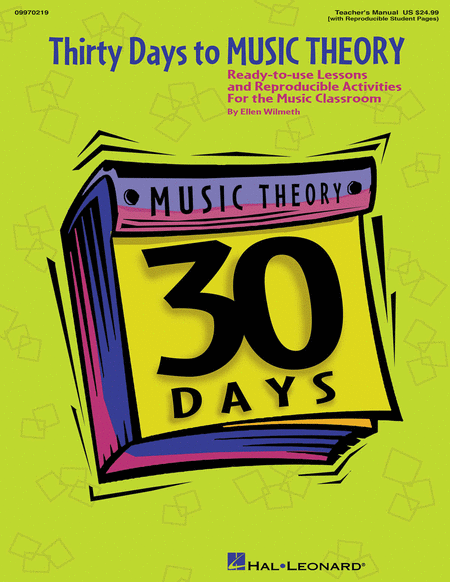 Thirty Days to Music Theory (Classroom Resource)