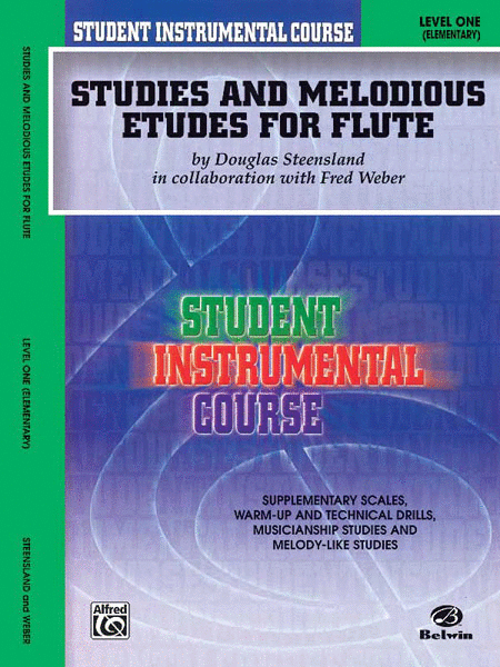 Student Instrumental Course Studies and Melodious Etudes for Flute