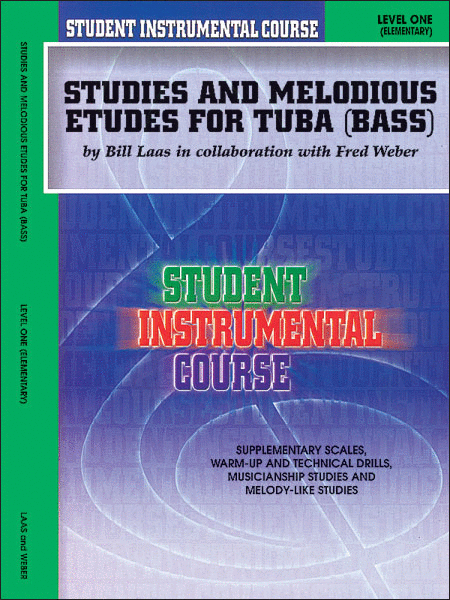 Student Instrumental Course Studies and Melodious Etudes for Tuba
