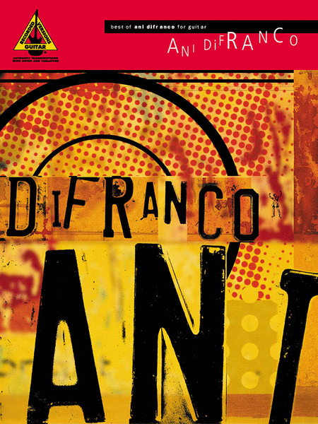 Best Of Ani DiFranco For Guitar