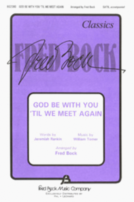 God Be with You 'Til We Meet Again
