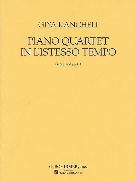 Piano Quartet in L'Istesso Tempo