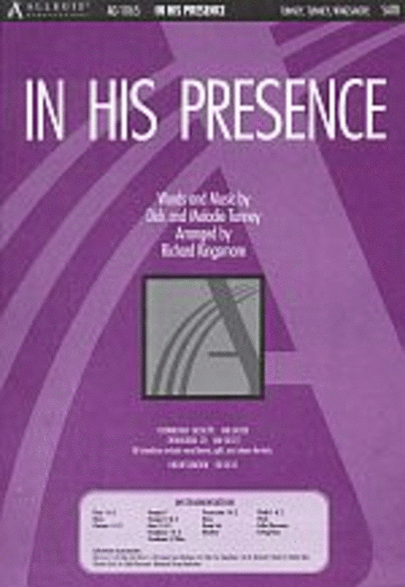 In His Presence (Anthem)