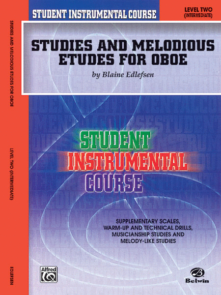 Student Instrumental Course Studies and Melodious Etudes for Oboe