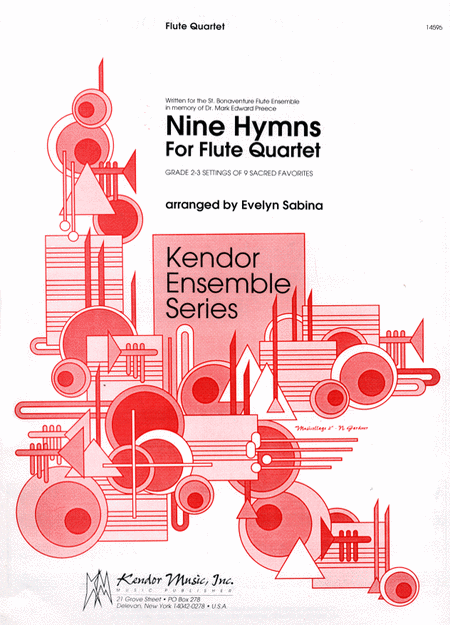 Nine Hymns for Flute Quartet