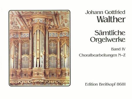 Samtliche Orgelwerke, Band 4