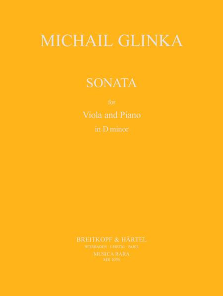 Sonate fur Viola und Klavier d-moll