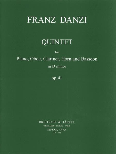 Quintett in d op. 41