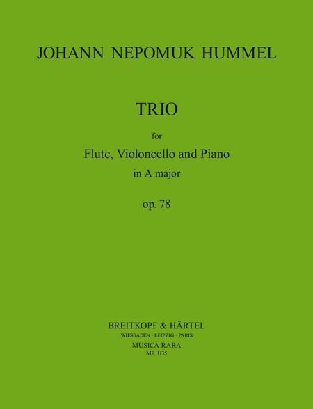 Trio in A op. 78