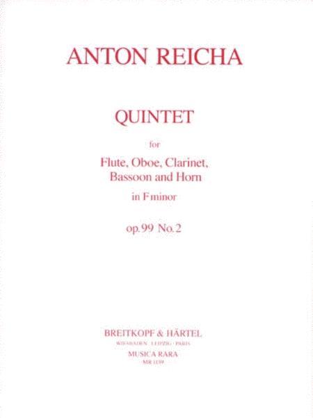 Quintett in f op. 99 Nr. 2