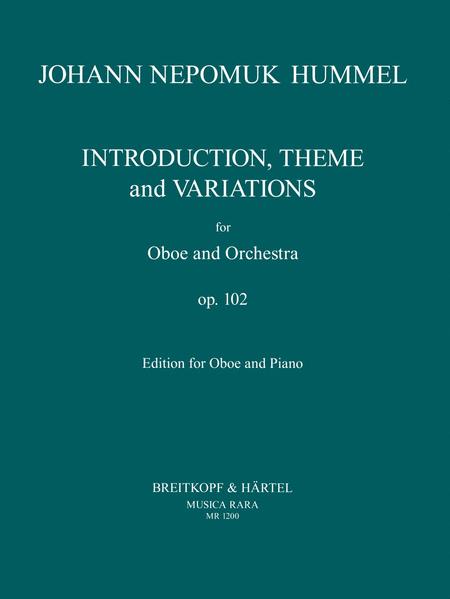 Introduktion, Thema und Variation