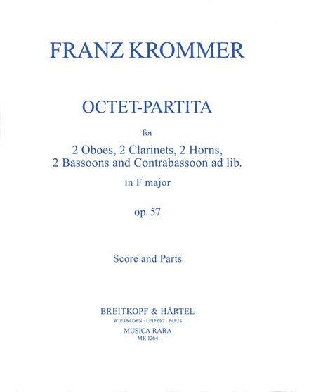 Oktett-Partita in F op. 57