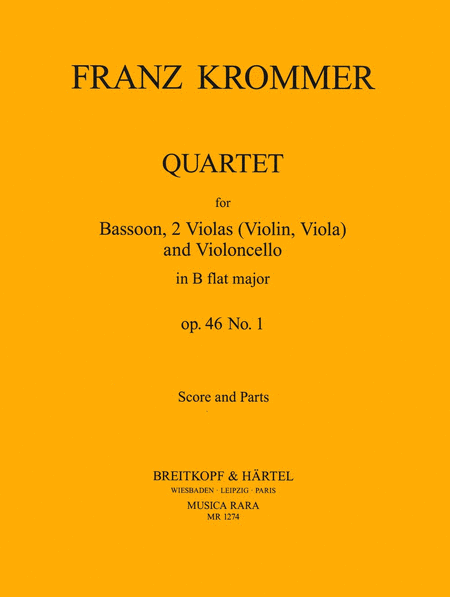 Quartett in B op. 46 Nr. 1