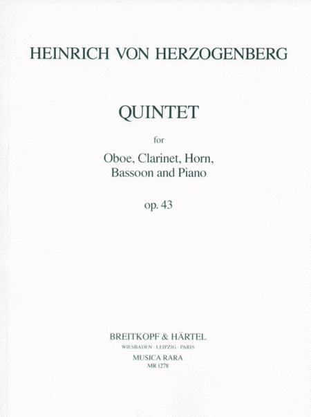 Quintett op. 43