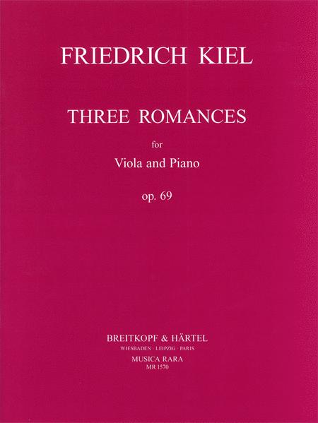 Drei Romanzen op. 69