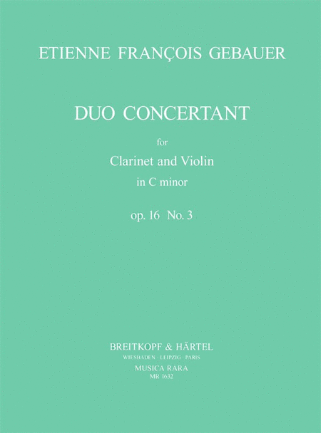 Duo Concertant op. 16/3