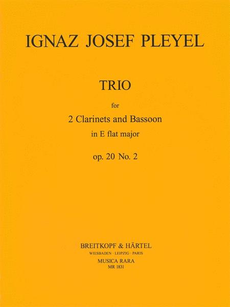 Trio in Es op. 20 Nr. 2