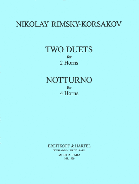 Zwei Duette, Notturno